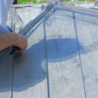 西伊豆町の(有)小野サッシは網戸の張り替えを行いました